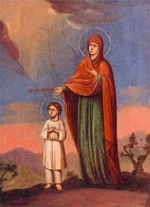 Икона Кирика и Иулитты