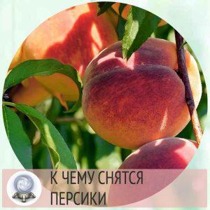 персики во сне