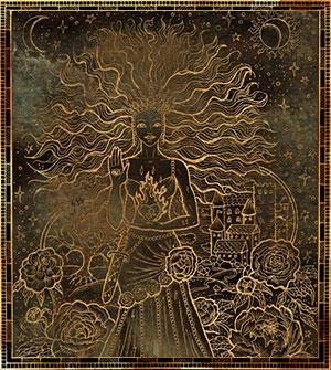 Лев - демон Шелхабирон