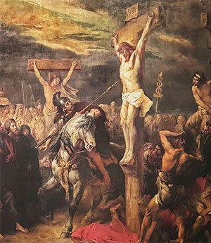 распятие Христа на кресте