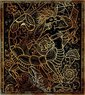 Скорпион - демон Нехешитирон.