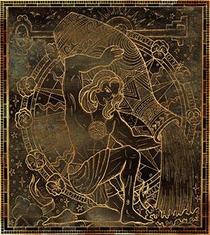 Водолей — демон Бехемирон.