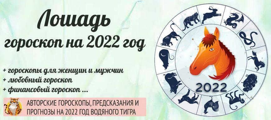 гороскоп лошадь 2022 год