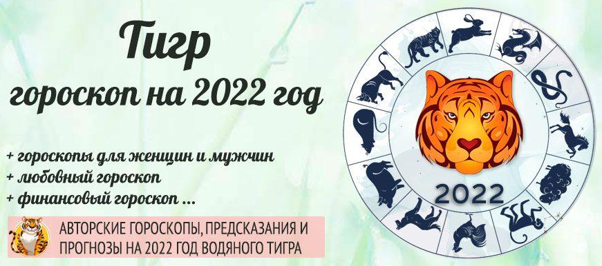 гороскоп тигр 2022 год