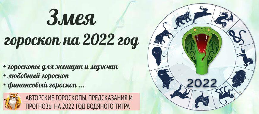 гороскоп змея 2022 год