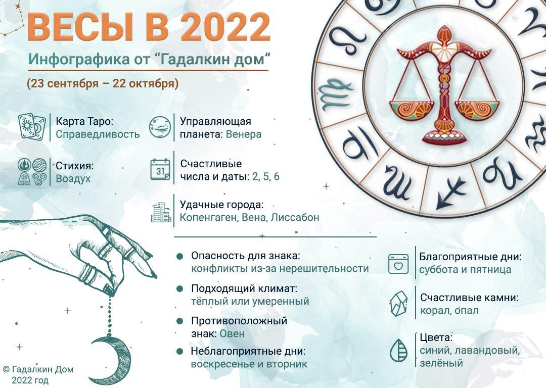 инфографика весы 2022