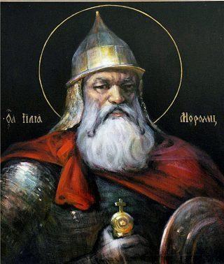 Илья Муромец был столь почитаем, что был причислен к святым.