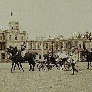 Николай II в Гатчине