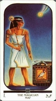 Карта Маг из колоды Египетское Таро