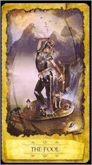 Карта Шут (Дурак) из колоды Мистическое Таро Мечтателя