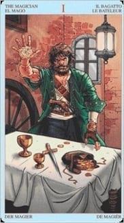 Карта Маг из колоды Пиратское Таро