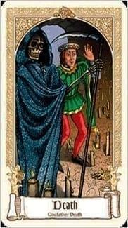 Карта Смерть из колоды Сказочное Таро