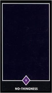 Карта Иерофант (Жрец, Папа) из колоды Таро Ошо Дзен