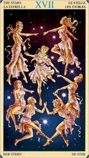 Карта Звезда из колоды Таро Союз Богинь