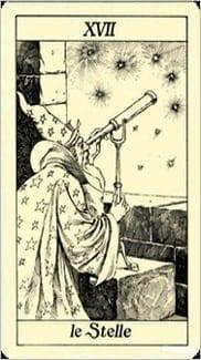 Карта Звезда из колоды Таро Трёх Мушкетеров