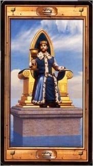 Карта Король Чаш из колоды Таро Универсальный ключ