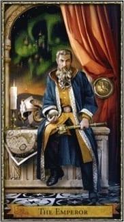 Карта Император из колоды Волшебное Таро