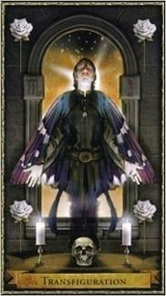 Карта Смерть из колоды Волшебное Таро